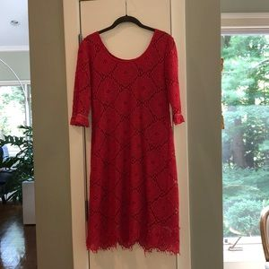 Red Lacy Sara Campbell Dress!